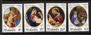 Malawi 490 - 3 Christmas,  Art,  Paintings photo