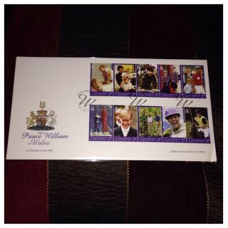 Fdc : - Fabulous Guernsey 2003 Hrh Prince William Of Wales 21st Birthday Fdc photo