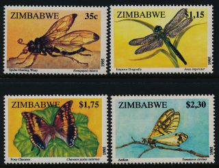 Zimbabwe 736 - 9 Insects,  Butterfly photo