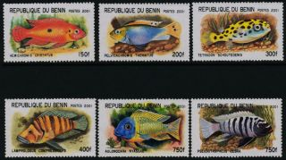 Benin Xli - Xlvi Tropical Fish photo