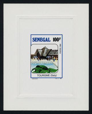 Senegal 808 Deluxe Sheet Architecture,  Tourism photo