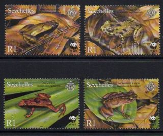 Seychelles Sg917/20 2003 Endangered Species photo
