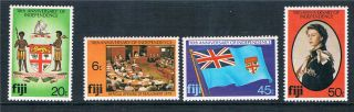 Fiji 1980 10th Anniversary Independence Sg 604/7 photo