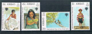 Kiribati 1979 Int.  Year Of The Child Sg 105/8 photo