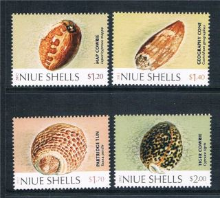 Niue 2012 Shells Issue photo