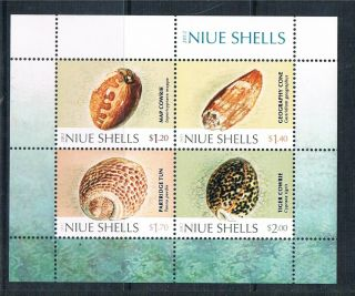 Niue 2012 Shells Ms Issue photo