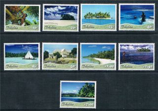 Tokelau 2012 Definitives 9v Issue photo