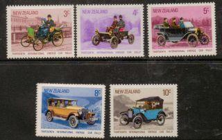 Zealand Sg972/7 1972 Vintage Cars photo