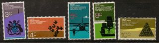 Zealand Sg978/82 1972 Anniversaries photo