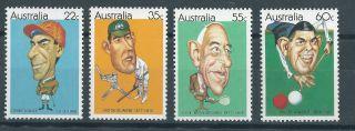 Australia.  1981. .  Sports.  (2695) photo