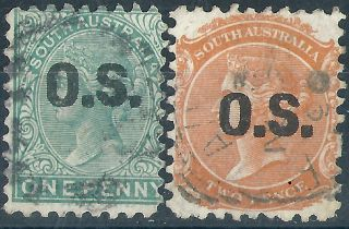 Australia - South Australia. .  Official.  1876/80.  (2698) photo