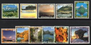 Zealand Sg1925/35 1995 Scenery (no 1934a - F) photo