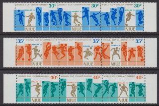 Niue - 1981 World Cup Football (9v) Um / photo