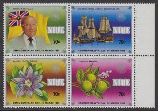 Niue - 1983 Commonwealth Day (4v) Um / photo