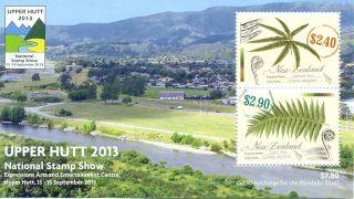 Zealand - Stamp Show - Upper Hutt Min Sheet - Issue - Sept 2013 - Ferns photo