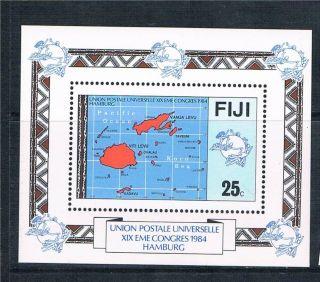 Fiji 1984 U.  P.  U.  Congress Sg Ms 679 photo
