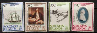 Solomon Islands Sg372/5 1979 Captain Cook photo