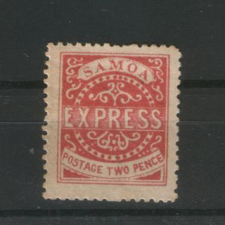 Samoa - Mh Stamp Two Pence