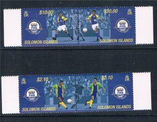 Solomon Is 2004 Centenary Of Fifa Sg 1076 - 9 photo