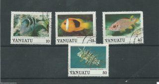 Vanuatu - 1987 - Sg466 Sg467 Sg471 & Sg473 - Cv £ 1.  40 - photo