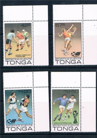Tonga 1986 Sporting Events Sg 947 - 50 photo