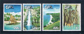 Fiji 1985 Expo ' 85 Sg 697/700 photo