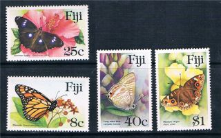 Fiji 1985 Butterflies Sg 693 - 6 photo