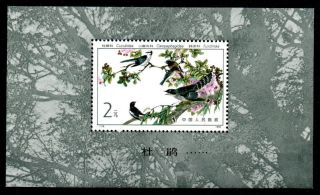 China Sgms3207 1982 Birds M/s photo