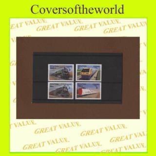Bhutan 1987 Capex Railways Miniature Sheet Um, photo