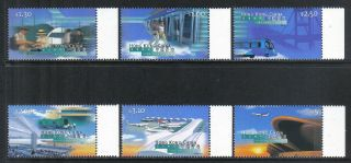 Hong Kong 1998 Airport Opening - - Attractive Airplane Topical (816 - 21) photo