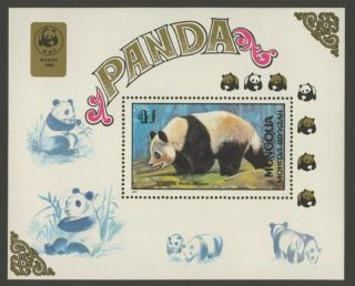 Mongolia 1776 Panda Bear,  Wwf photo