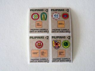 Philippines Pilipinas Guerrilla Units Of Wwii 1992 Stamp photo