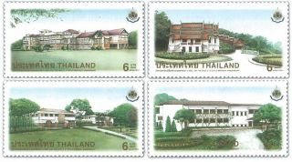 Thailand Stamp,  1999 1923 - 1926 H.  M King ' S 6th Cycle Birthday,  Place,  Palace photo
