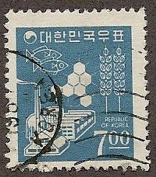 South Korea Scott 522,  Symbols Of Thrift And Development, ,  1966 photo