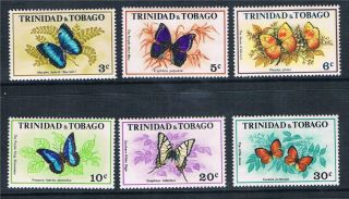 Trinidad & Tobago 1972 Butterflies Sg407/12 photo