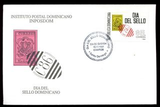 Dominican Republic 1994 Stamp Day Fdc C5470 photo