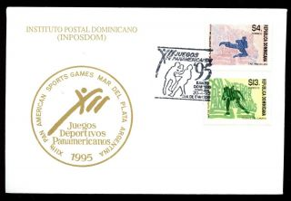Dominican Republic 1993,  Pan American Games Fdc C5475 photo