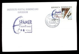 Dominican Republic 1996 Aviation And Space Fdc C5480 photo