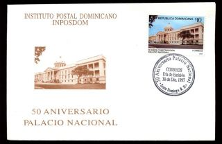Dominican Republic 1997 National Palace Fdc C5544 photo