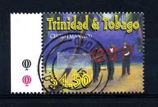 B264 Trinidad And Tobago 2000 Sg890 $4.  50 Christmas photo
