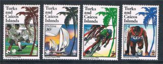 Turks & Caicos 1988 Olympic Games Sg 925/8 photo