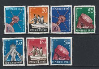 Haiti 424 - 427,  C119 - 121 photo