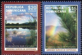 Dominican Foundation Sur Futuro Sc 1499 - 1500 2011 photo