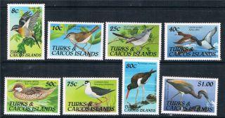 Turks & Caicos 1990 Birds Sg 1050/7 photo