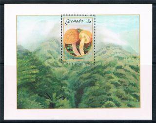 Grenada 1986 Mushrooms Sg M.  S.  1525 photo