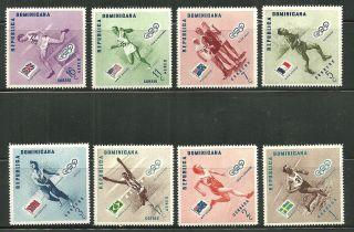 Dominican Republic 479 - 83,  C - 100 - 102 Olympic Winners 1956 photo