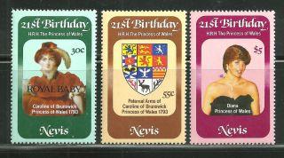 Nevis 153 - 55 Royal Baby photo