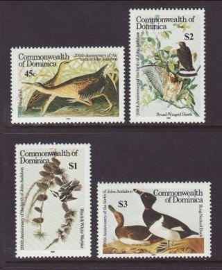 Dominica 891 - 894 Birds Vf (14924) photo