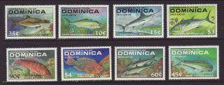 Dominica 1137 - 1143 Fish Vf (14922) photo