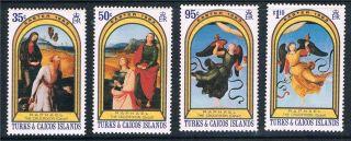 Turks & Caicos 1983 Easter Sg 740/3 photo